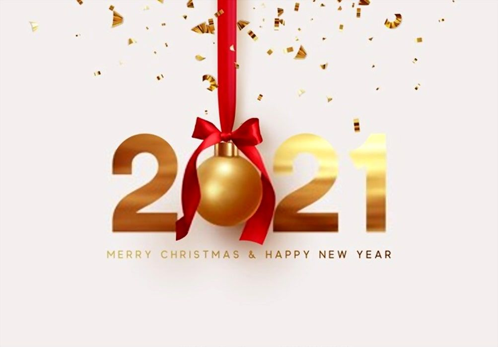 11++ Merry Christmas And Happy New Year 2021 Wishes