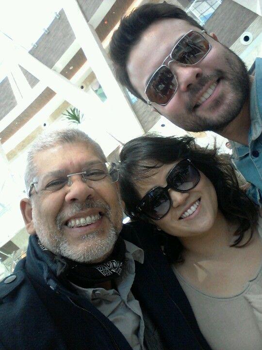 Fabiana Minei and Carlos Arakaki