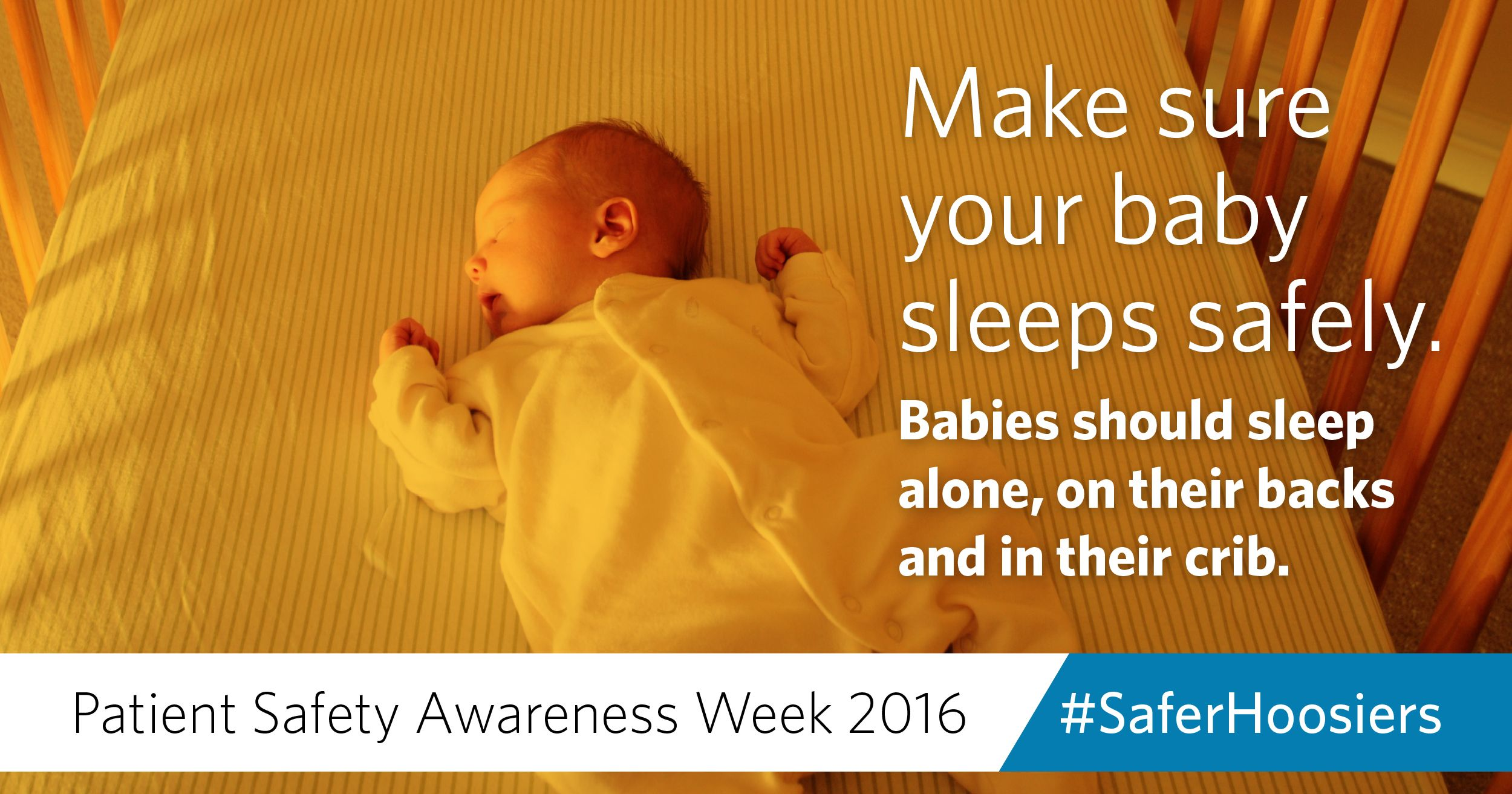 Safety tip Put babies on a firm sleep surface, like a