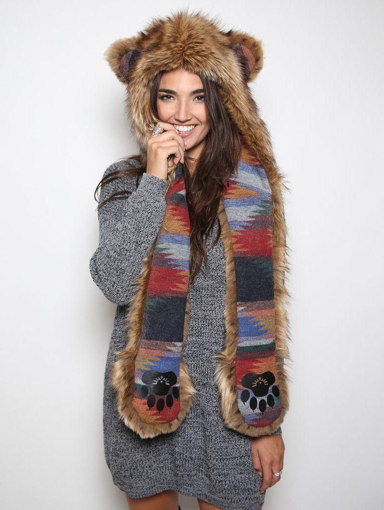 d3b3cef32 Kodiak Grizzly SpiritHood | Clothing etc | Camo outfits, Fur, Bear