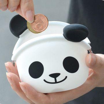 Panda Smile Coin Case. :) Cute!