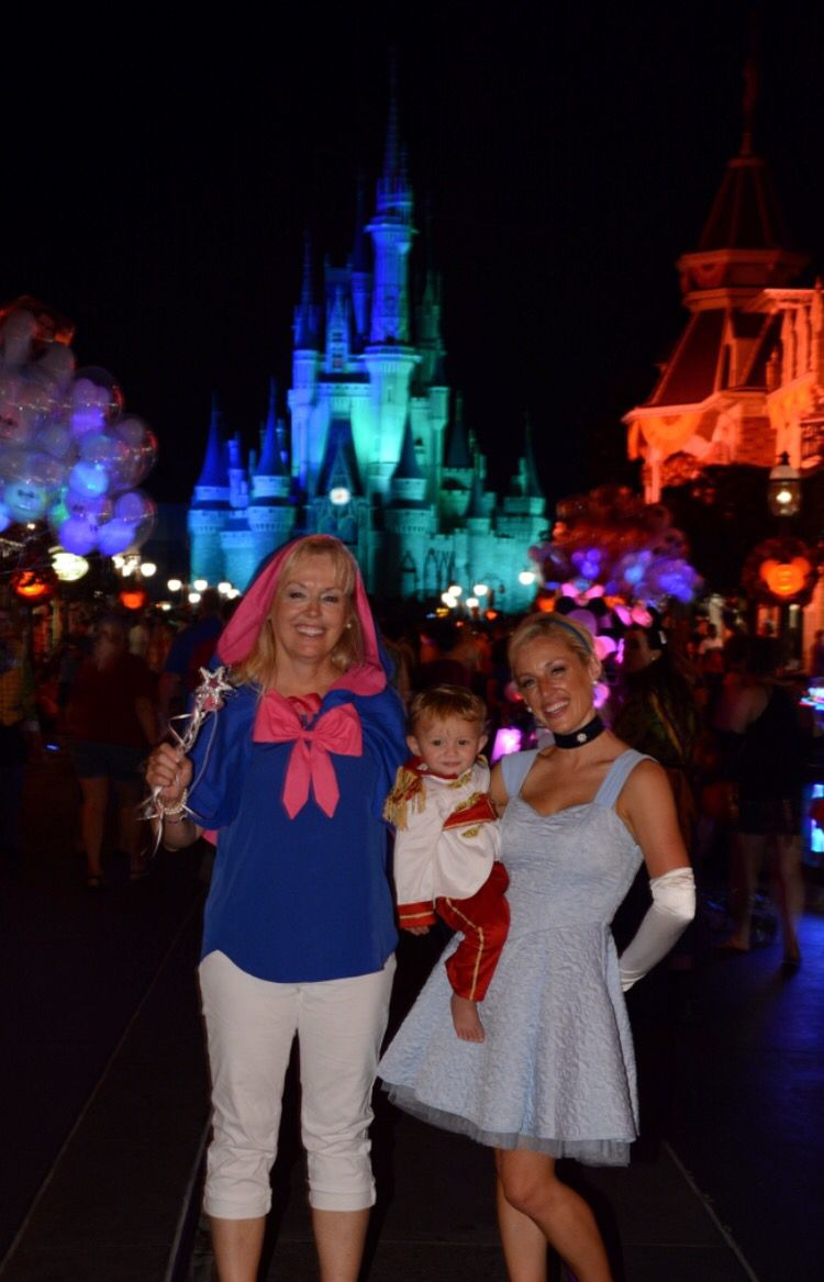 Grandma Mom And Son Matching Costumes Fairy Godmother