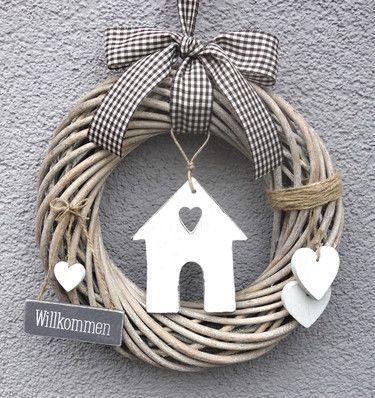 Photo of Ghirlanda di porte Benvenuti nello stile country di Myjoliedeco – Idee per case di campagna