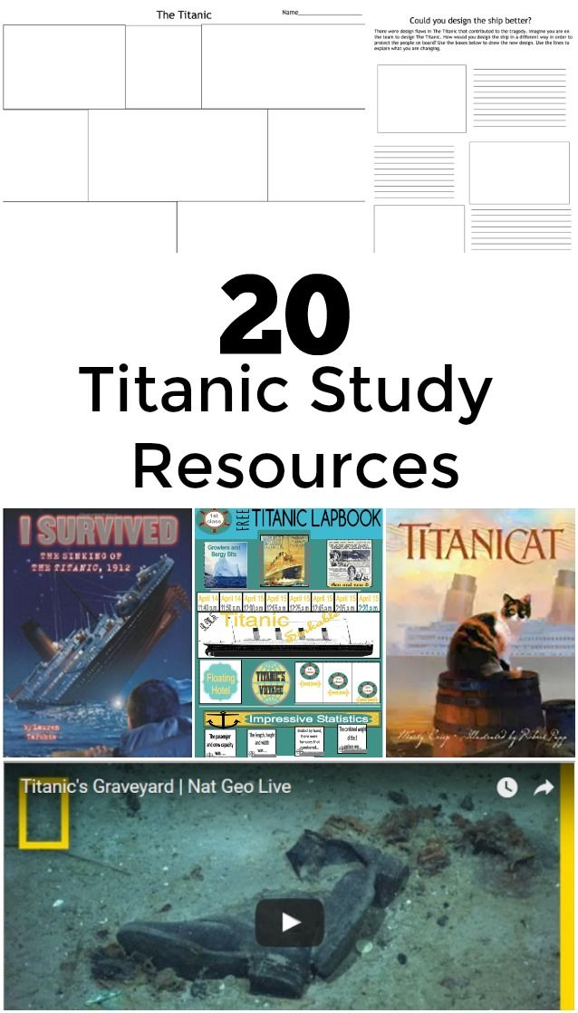 Photo of Titanic Study Resources – 20 Videos, lesson ideas, and More!