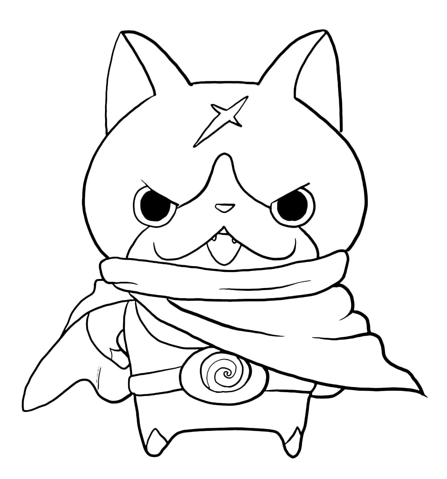 Yo Kai Watch Coloring Pages New Kai Coloring Pages Enjoyforfunte Kai