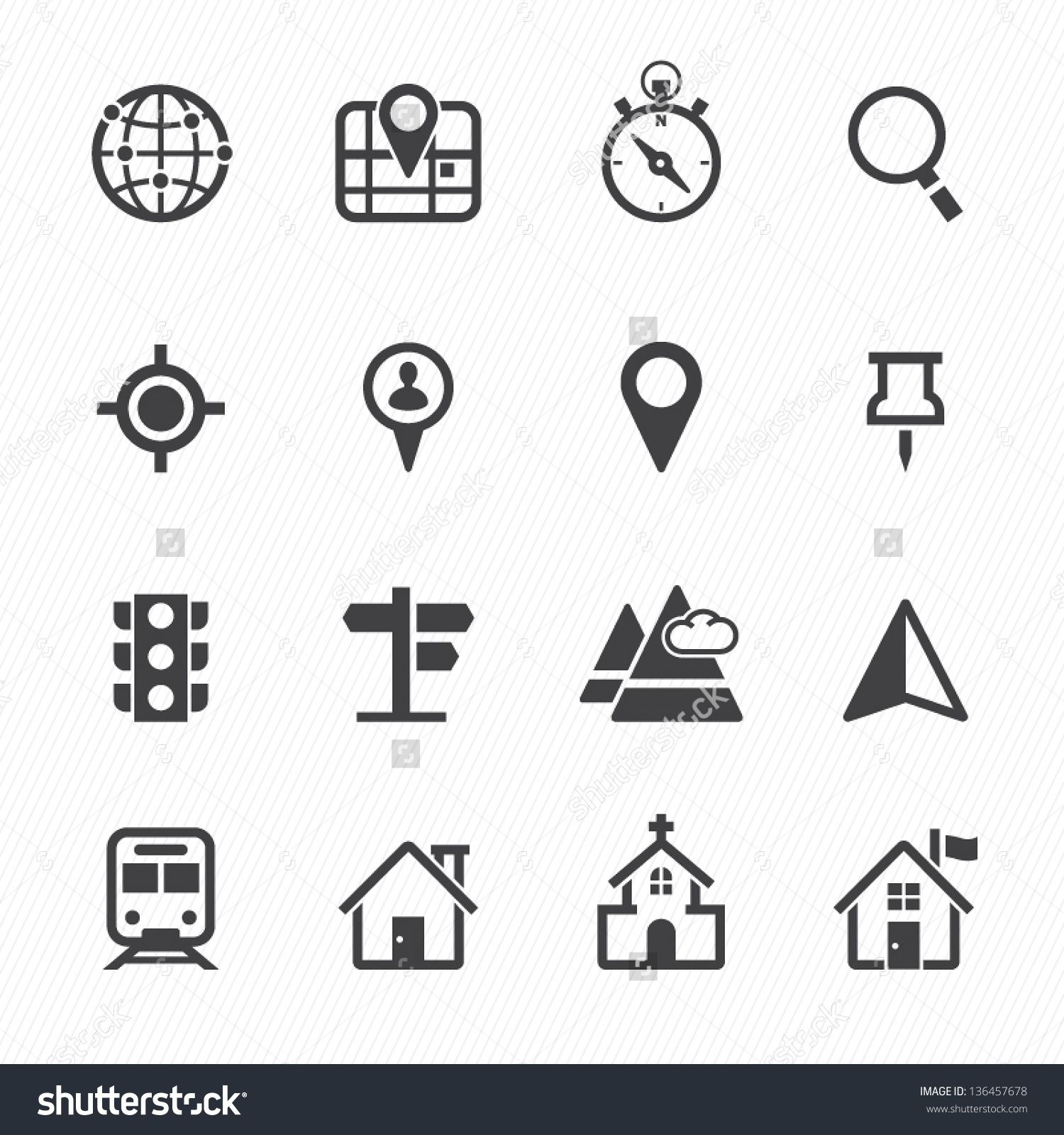 stock-vector-map-icons-and-location-icons-with-white-background ...