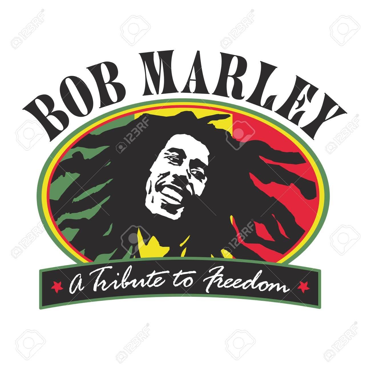 Jamaica Freedom Bob Marley Illustration Sponsored Freedom Jamaica Bob Illustration Marley Bob Marley Marley Vector Logo