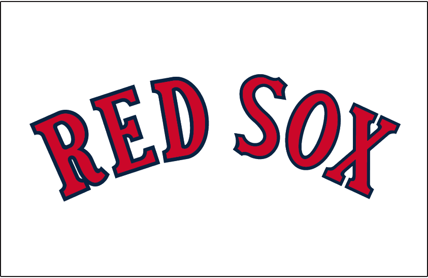 boston red sox jersey logo 1909 boston arched and written in a rh pinterest com boston red sox b logo font