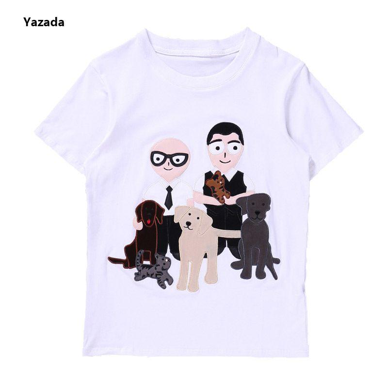 7ab0435b5fbe Yazada Tops DG Mafia man T Shirt women men 2017cartoon man Spring Summer T  Shirt women