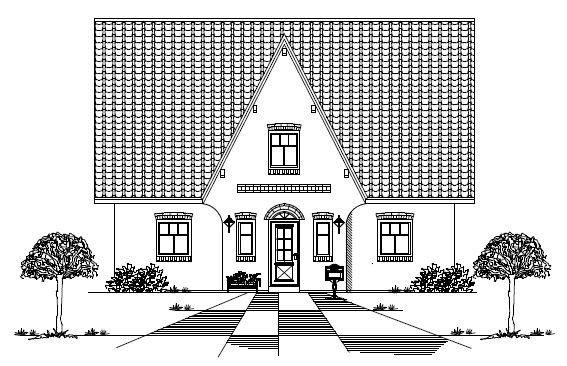 Bau eines Friesenhauses mit Dan Concept in Lübeck