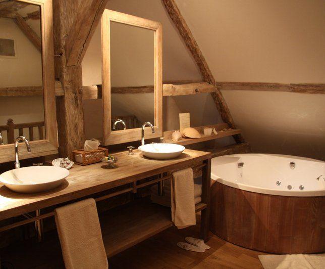 Photo Deco : Salle de bains Romantique Chateau Romantique Moderne ...