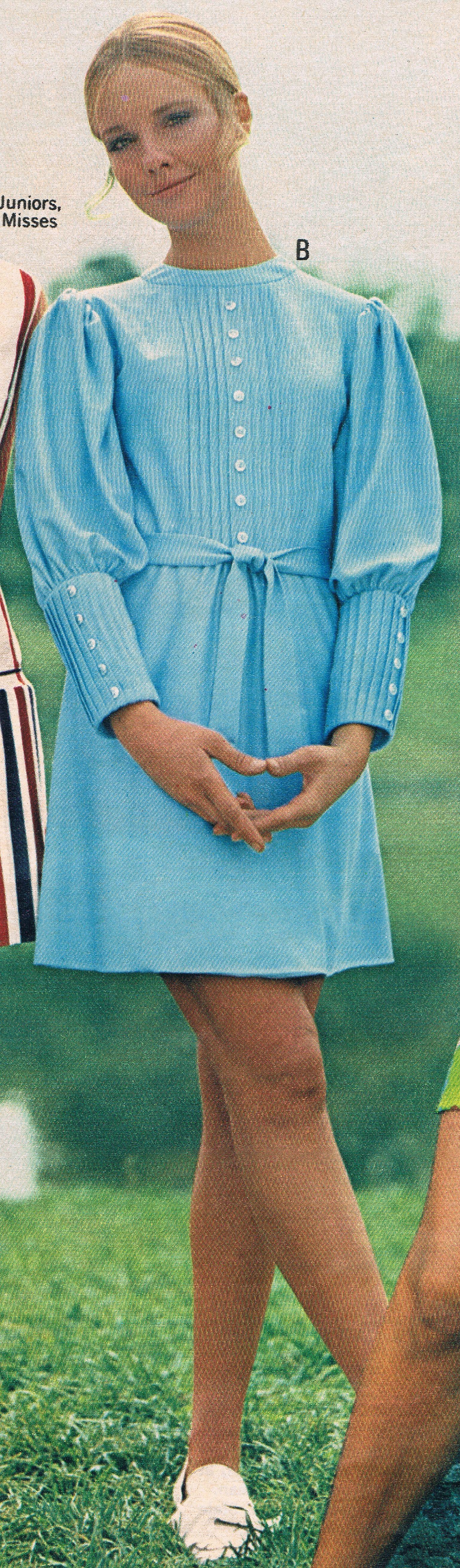 Penneys 1970 catalog.  Cay Sanderson