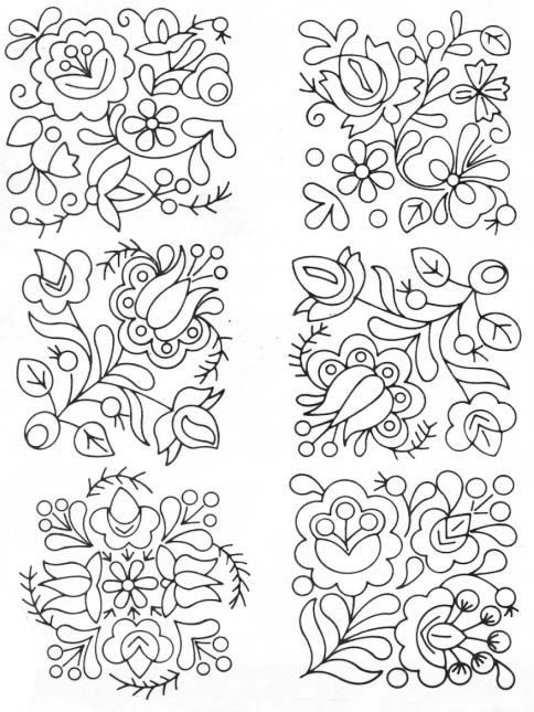 Pin by Sahar Shohdi on Patterns ~ Embroidery | Pinterest