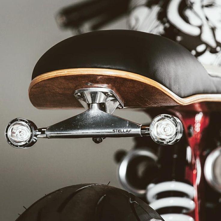   @TheMotoBlogs   #TheMotoBlog   Skateboard Deck Seat Pan und Trucks auf dieser Tri … – Bestes Bild Club