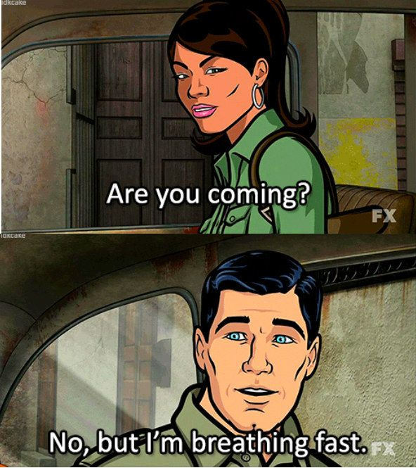 """When he found a different way to say """"phrasing."""" 
