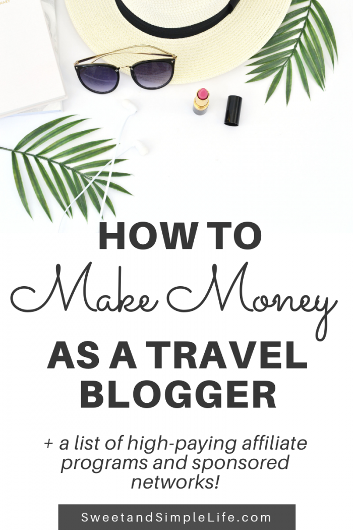 How to Make Money as a Travel Blogger (with Sponsored Posts)