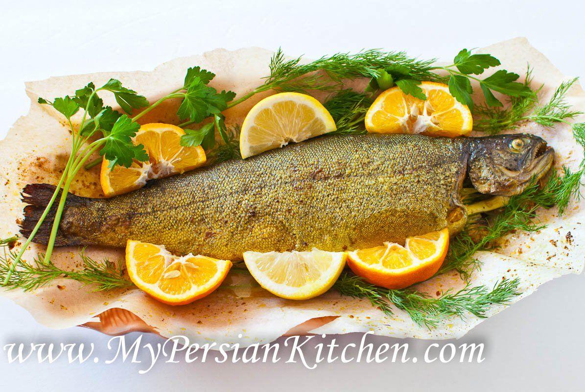 Ghezel Ala Ba Narenj Trout With Bitter Orange Recipe With