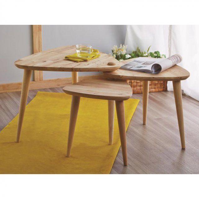 Une table basse gigogne pour rythmer le salon table manners table basse gigogne table basse - Table basse delamaison ...