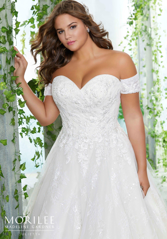 Petunia Plus Size Wedding Dress Morilee Wedding Dresses Strapless Crystal Wedding Dresses Plus Wedding Dresses [ 2630 x 1834 Pixel ]