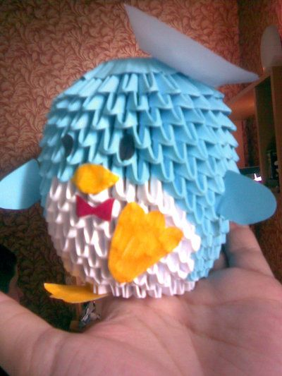 Crazy Cool Origami Penguin Art Love 3 Pinterest Origami 3d