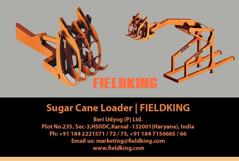 Sugar Cane Loader Manufacturers and Suppliers in India