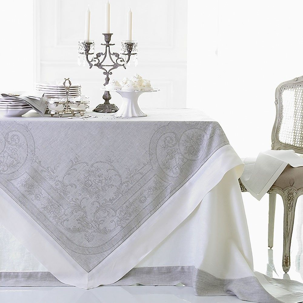 Pure Linen Tablecloths And Napkins   Cologne U0026 Cotton Love Both Of These!  270 X   130 GBP Matching Napkins Each