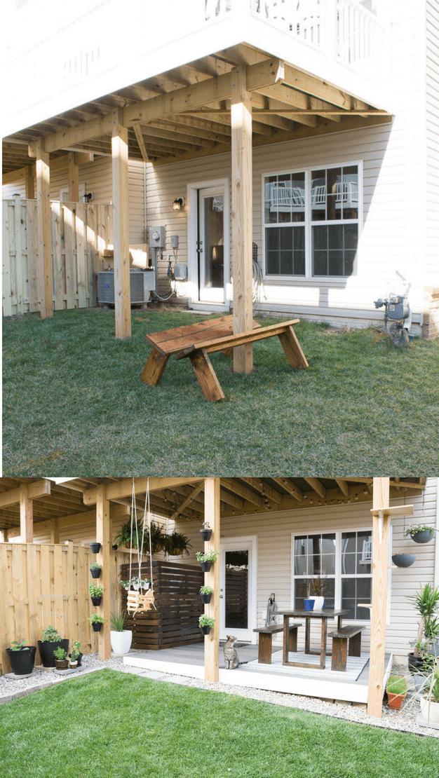 Small Backyard Design Ideas in My Tiny Backyard and Garden