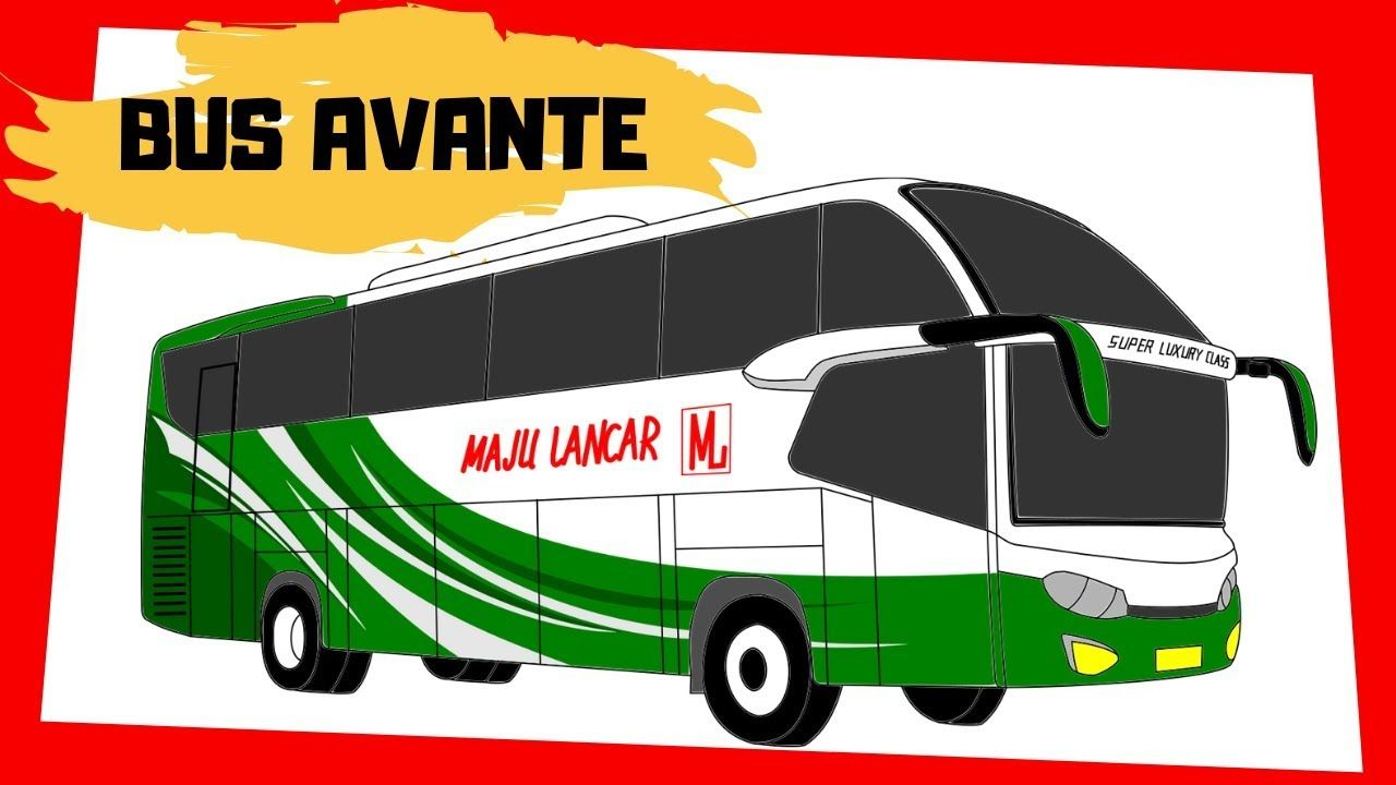 Cara Menggambar Mobil Tayo Tayo The Little Bus New Video By Qodary Junior On Youtube Gambar Cara Menggambar Mobil