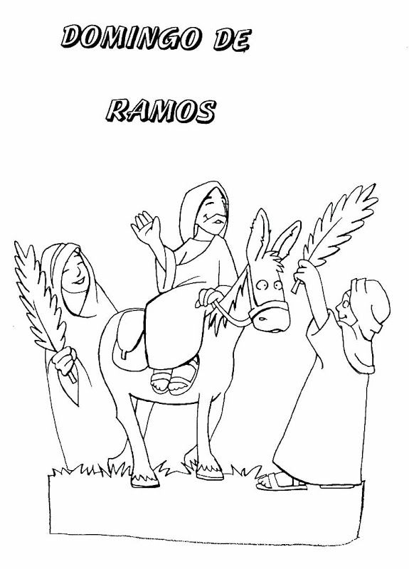 Pinto Dibujos Dibujos De Semana Santa Para Colorear Semana Santa