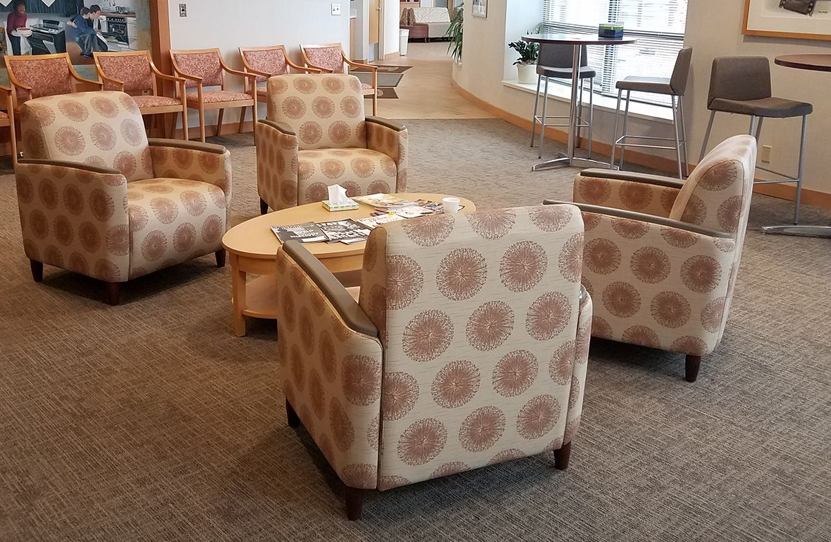 Installation gallery heathcare furniture healthcare