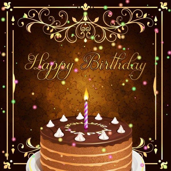 Happy Birthday Animated GIF ECard