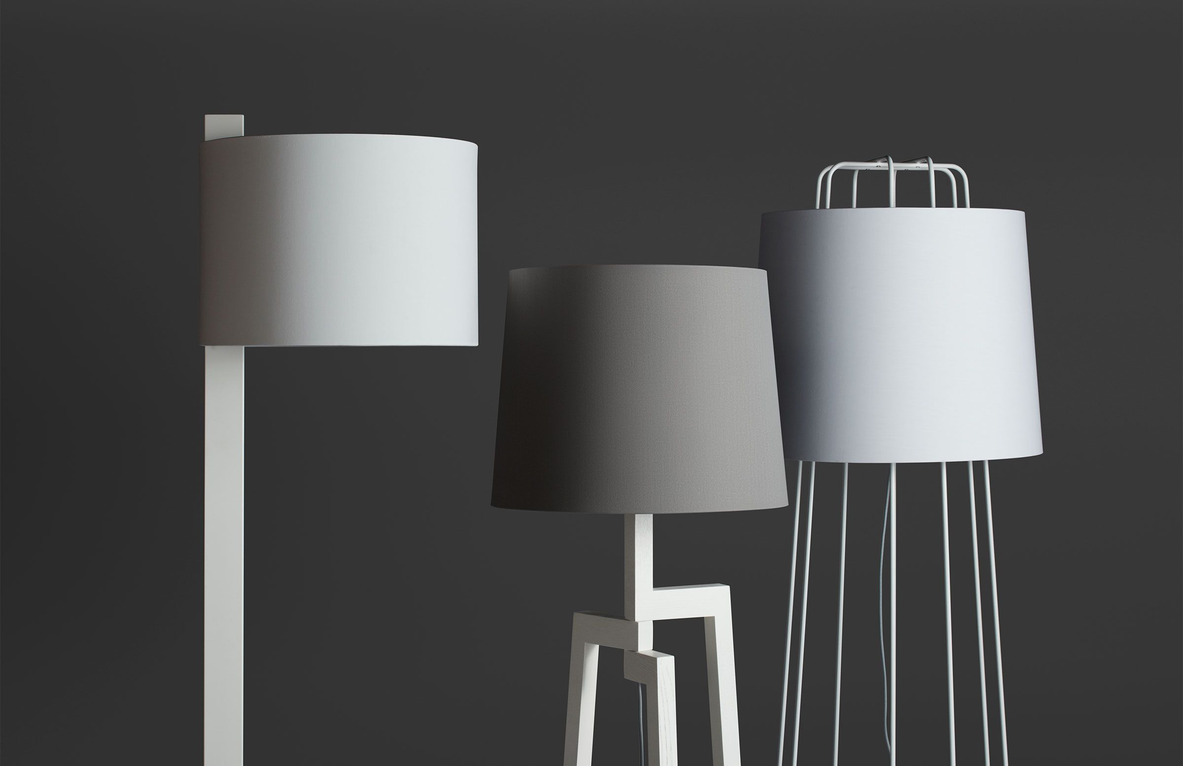 Perimeter Modern Floor Lamp - Unique Floor Lamps | Blu Dot ...