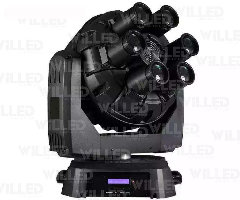 Jumbo Rock 6*10W LED Moving Head Light|LED wireless & battery operated light|LED par light|COB light|spot and wash light|wall washer-WILLEDLIGHT