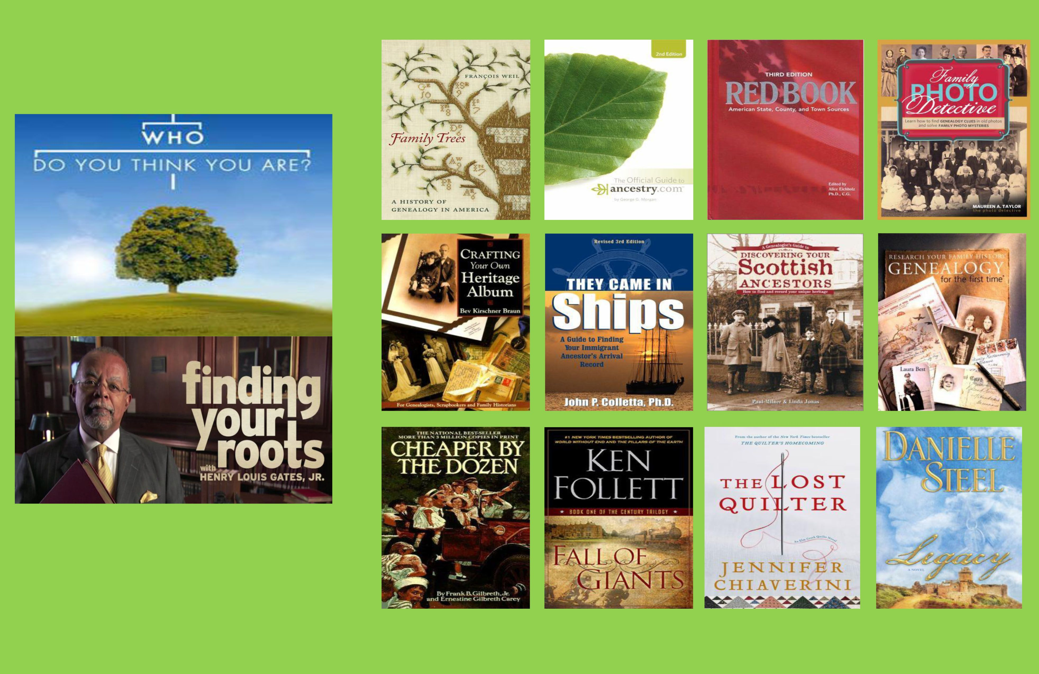 books to get to the root of your family tree we also have genealogy