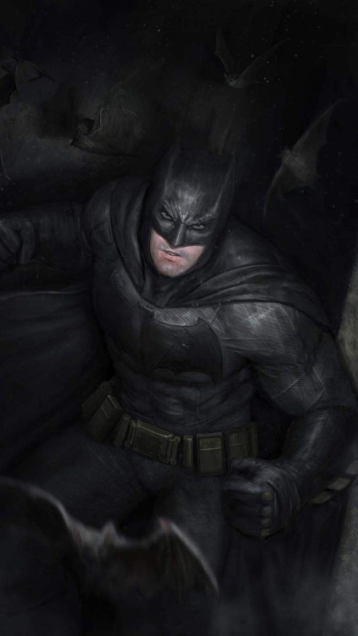 Batman Dark IPhone Wallpaper - IPhone Wallpapers
