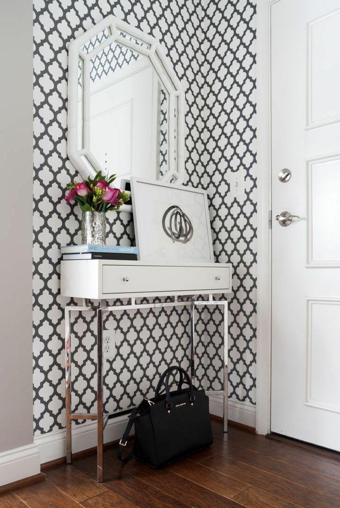 1001 ideas para decorar las recibidores peque os house for Espejos originales recibidor