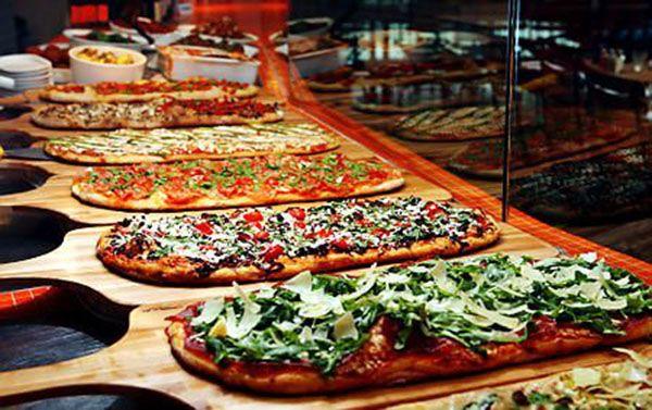 gourmet pizza bars eat me pinterest buffet reception and pizzas rh pinterest com pizza buffet layton utah pizza buffet utah county
