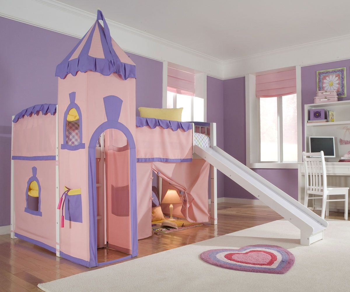 Low Loft Bedroom Sets Brilliant Low Loft Bed With Desk