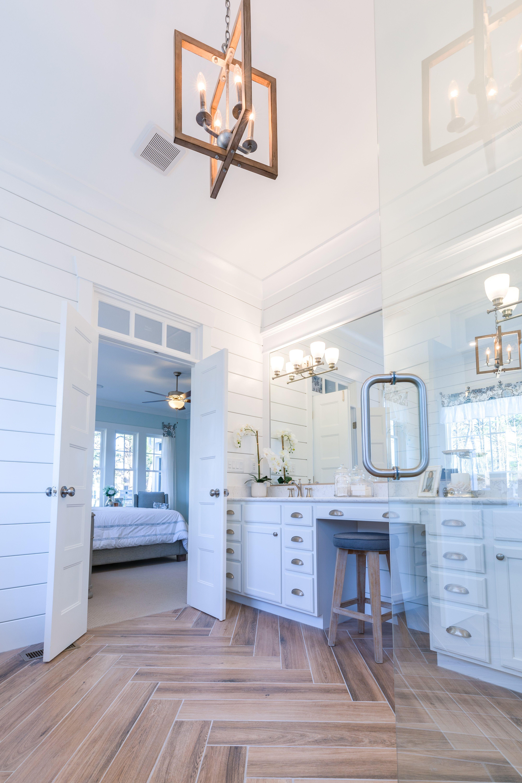 Turnbury chandelier, Lucky bath & vanity shown | Stephen Alexander ...