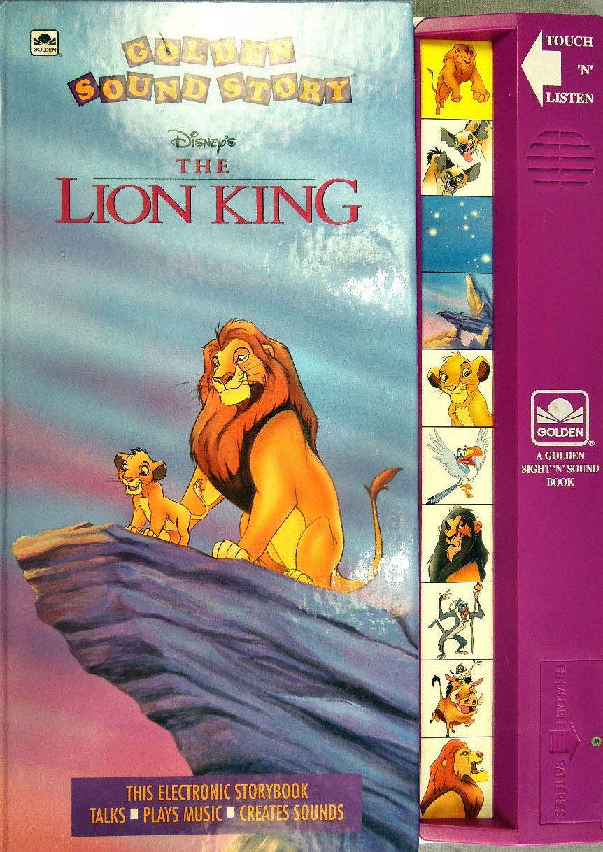 Golden Sound Story Disney The Lion King | Disney Books ...