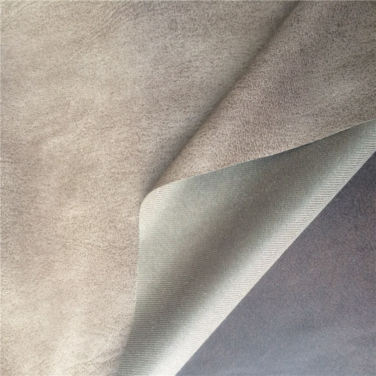 China Super Hot Suede Fabric Of Printed Composite Suede For Sofa