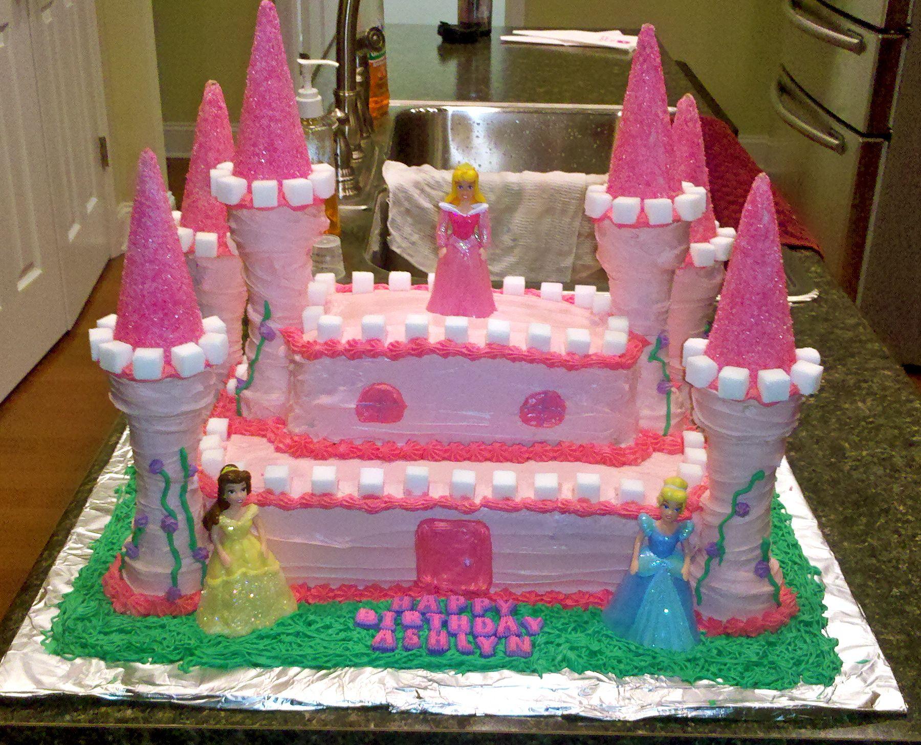 Princess Castle Cake Party Stuff Pinterest Princess castle