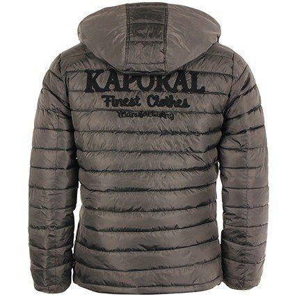sélection premium c302e c6427 Kaporal - Homme - Blouson doudoune à capuche Benti grise ...