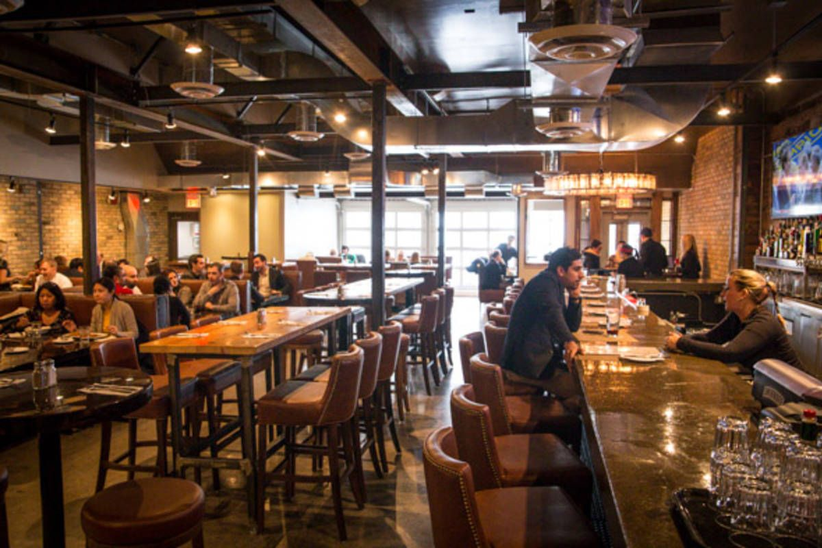 The Wickson Social Occupies An Address Just Off Yonge Street At The Base Of A New Condo Fronted By A Best Restaurants In Toronto Mississauga Restaurants Eatery