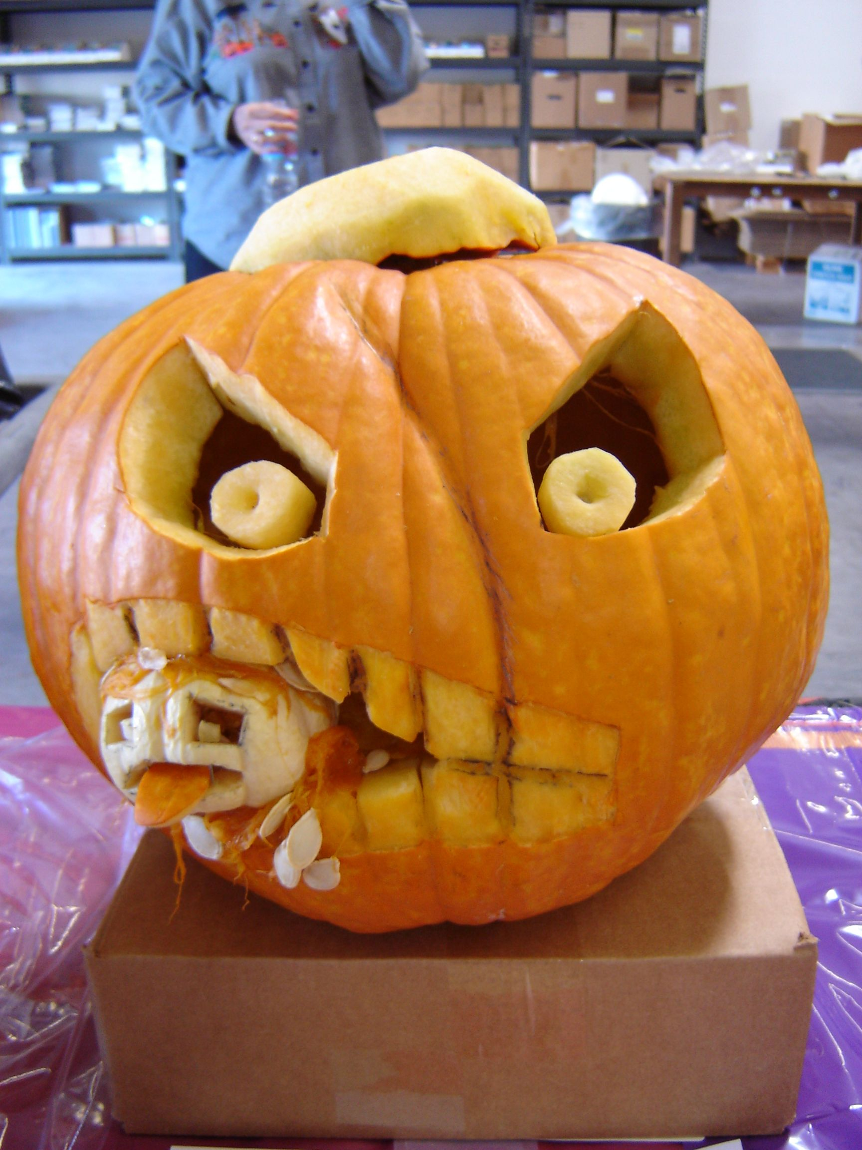 Transforme ta citrouille en Jack O'Lantern de Halloween