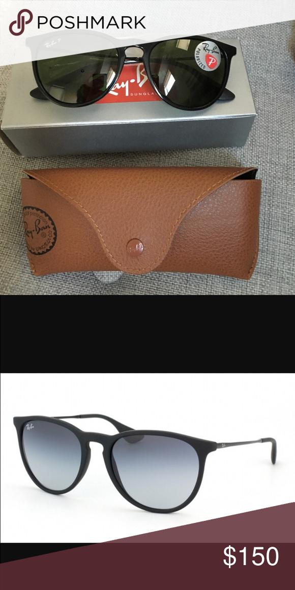 46fdcb356a Ray-Ban Erika Classic Sunglasses-Polarized Blk Grn