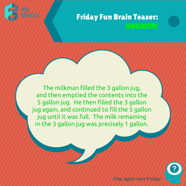Fit Brains Brain Teasers Riddles, Puzzles, Games Brain