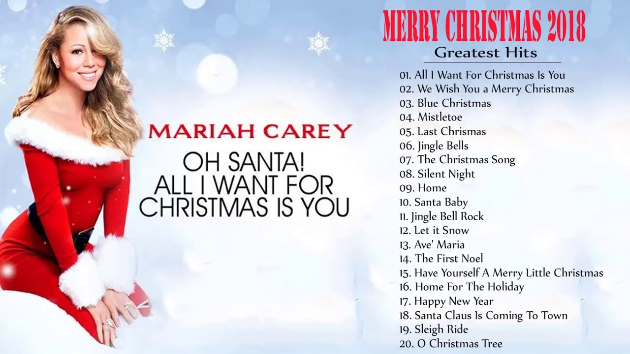Nueva Musica Navidena 2017 2018 Canciones Navidenas En Ingles Youtube Wish You Merry Christmas Mariah Carey Songs