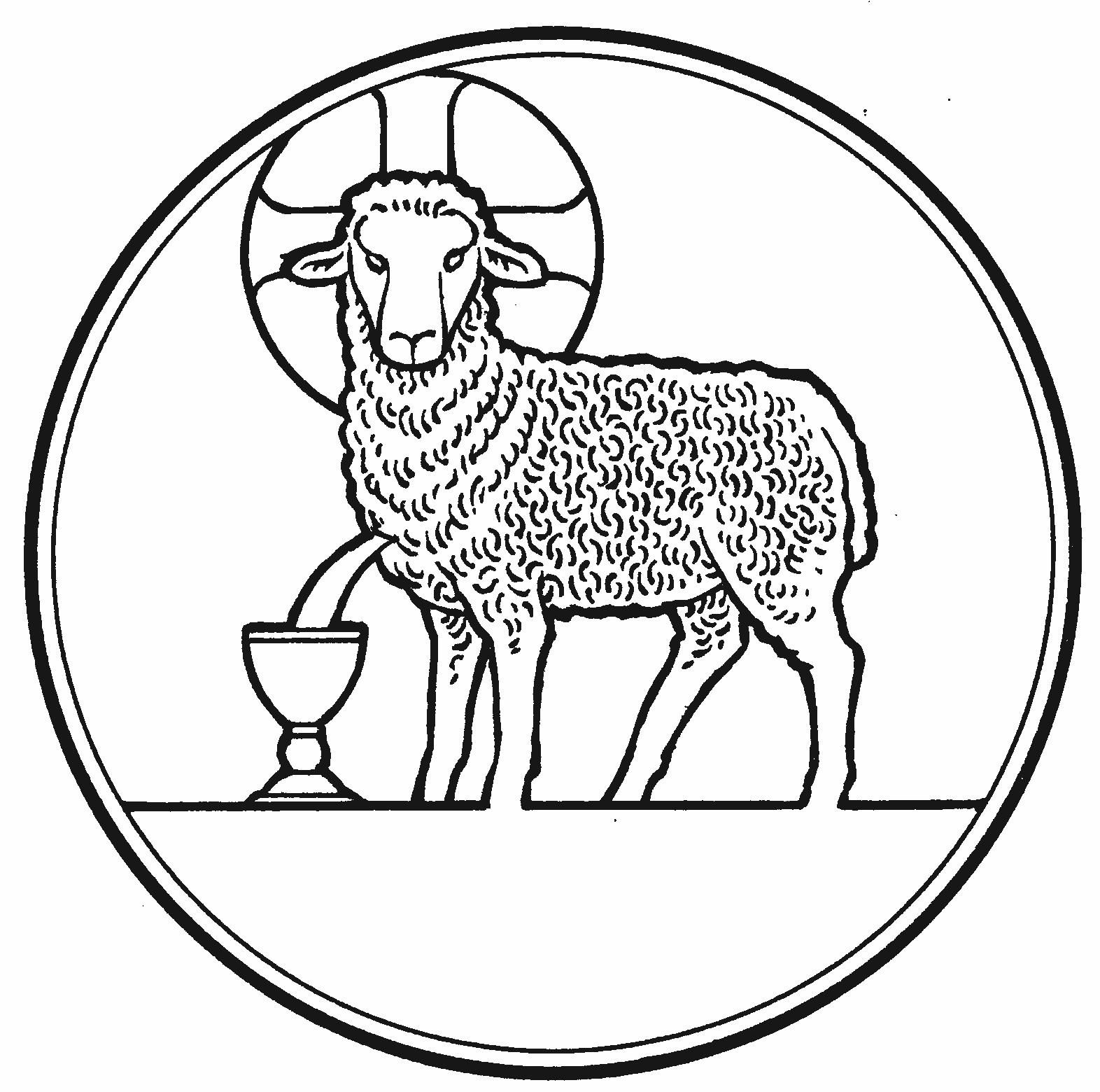Lamb of God Clip Art Black and White Take a look at the ...