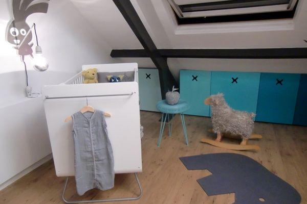 Babykamer Op Zolder : Bridgets babykamer eigen huis & tuin ❤ baby ❤ pinterest
